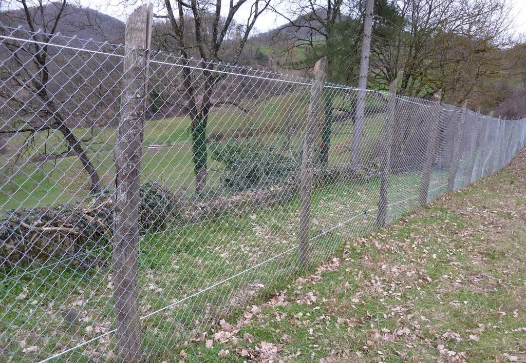 Recinzione metallica adattata protezione del bestiame for Recinzione elettrica per cavalli